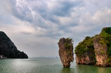 Free James Bond Island Ocean View With Cloudy Sky In Phang Nga Bay, A Royalty Free Stock Images - 30207129