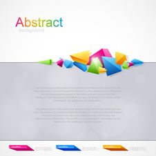 Free Background With Geometrical Abstraction Stock Photography - 30207222