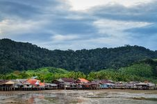 Free Traditional Fisherman Old Town Village In Ko Lanta, Thailand Stock Photo - 30207570