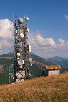 Free Antenna Tv And Radio Stock Photos - 30207813