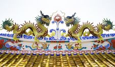 Free Colorful Dragon Statue Royalty Free Stock Photography - 30209947