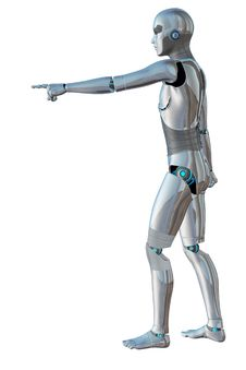 Free Robot Android Male Stock Photos - 30210823