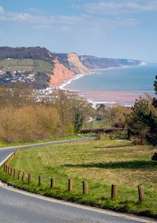 Free Approaching Sidmouth Devon From The West Stock Photos - 30212633