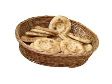 Unleavened Wheat Cake Bread Royalty Free Stock Image