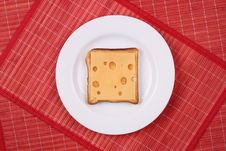 Free Cheese Sandwich Royalty Free Stock Photography - 30215467