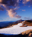 Free Spring Snow In The Mountains Stock Photography - 30227432