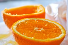 Free Half Orange Stock Images - 30225174