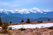 Free Spring In The Mountains Royalty Free Stock Photo - 30227415