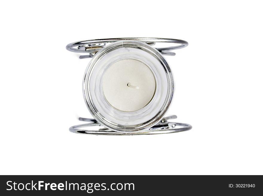 Chrome candlestick