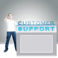 Free Customer Support Royalty Free Stock Photography - 30234927