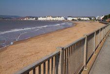 Exmouth Seafront Devon England Royalty Free Stock Photos