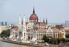 Free Parliament, Budapest, Hungary Royalty Free Stock Photography - 30235087