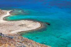Free Lagoon Balos, Gramvousa, Crete, Greece Royalty Free Stock Photography - 30235777