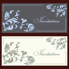 Free Invitation Set Royalty Free Stock Photos - 30238058