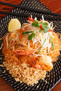 Free Pad Thai, Thai Signature Dish. Royalty Free Stock Photography - 30242917