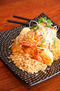 Free Pad Thai, Thai Signature Dish. Royalty Free Stock Photo - 30242975