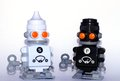 Free Salt And Pepper Robots Royalty Free Stock Images - 30246789