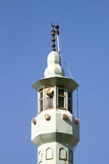 Free Top Of Minaret Stock Image - 30242041