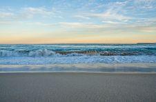Free Splashing Scene Beach Stock Images - 30242144