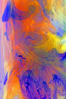 Free Color Swirl Abstract Composing Stock Image - 30242531