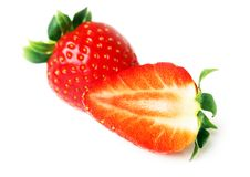 Free Fruits - Two Strawberries Stock Images - 30245344