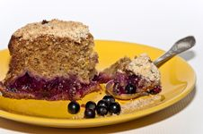 Berry Cake Royalty Free Stock Photos