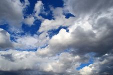 Free Lot Of Clouds Royalty Free Stock Photo - 30247175