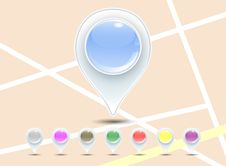 Free Map Pointer Stock Images - 30249334