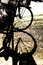 Free Silhouette Of A Bike&x27;s Wheel Stock Image - 30240251