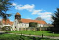 Free An English Village Church And Manor Stock Photo - 30251360