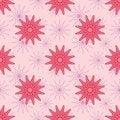 Free Pink Flowers Seamless Pattern Royalty Free Stock Photos - 30257768