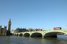 Free Westminster Bridge Stock Image - 30251181