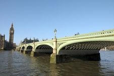 Free Westminster Bridge Stock Image - 30251191