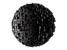 Free Sphere From N-gons Royalty Free Stock Photos - 30253988