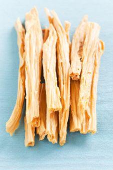 Free Dried Tofu Skin Stock Image - 30256941