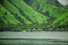 Free A Small Village On The Indonesian Island Royalty Free Stock Images - 30262249