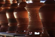 Free Clay Pot For Sale Stock Photography - 30263682