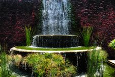 Free A Small Waterfall Royalty Free Stock Image - 30264586