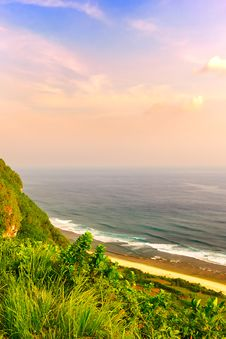 Free Beautiful Skyscape From Bali Uluwatu Stock Image - 30264601