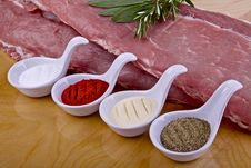 Free Raw Pork Meat Stock Image - 30264621