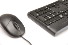 Free Computer Mouse And Keyboard Royalty Free Stock Photo - 30269715