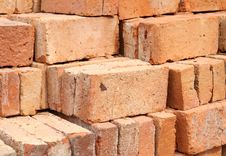 Clay Bricks Royalty Free Stock Photos