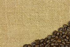 Free Coffee On Sack Stock Photos - 30271323