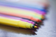 Free Colored Markers Stock Photos - 30273313
