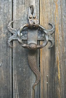 Free Old Door Knocker Royalty Free Stock Photos - 30276588