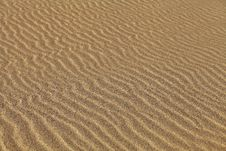 Rippled Sand Royalty Free Stock Photography