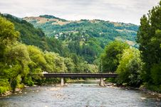 Free River Bridge Stock Photo - 30279960