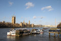 Free Palace Of Westminster And River Thames Stock Photos - 30287973