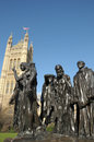 Free Rodin Sculpture, Burghers Of Calais Stock Image - 30288221