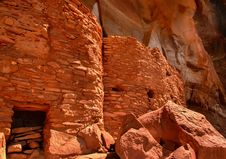 Sinagua Cliff Dwelling Stock Photography